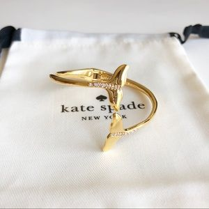 Kate Spade Whale Tail Cuff